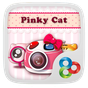 Pinky Cat GO Launcher Theme 5.99 APK