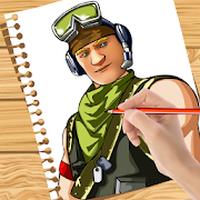 Ícone do apk Como desenhar: Fortnite