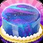 Galaxy Mirror Glaze Cake - Sweet Desserts Maker 1.1