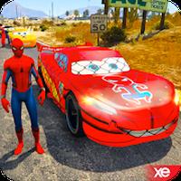 Süper Kahramanlar Hızlı Yarış Zorlukları APK Simgesi