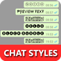 Chat Styles: Cool Text, Stylish Font for WHatsapp 5.9