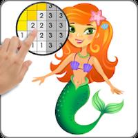 Ícone do Arte de pixel-arte de pixel, Colorir pelo Número