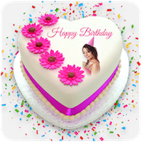 Photo Name On Birthday Cake Hd Photo Frames Android Free