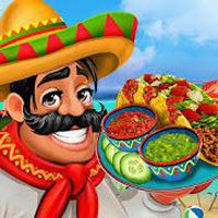 Icoană apk Mexican Food Kitchen Story Chef Cooking Games