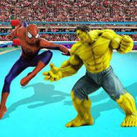Superhéroe ring d lucha libre Tag Team Lucha Arena apk icono