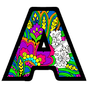 Alphabets Color by Number Book: Pixel Art Coloring 1.2