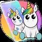Cute Colorful Cartoon Unicorn Theme 1.1.1