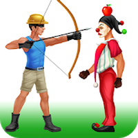 Ícone do apk Shoot The Apple Clown