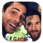 selfie con Messi 1.0