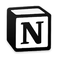 Ícone do Notion - Notes, Tasks, Wikis