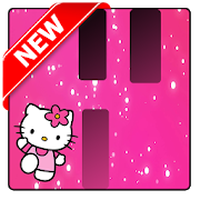 Εικονίδιο του Pink Hello Kitty Piano Tiles apk