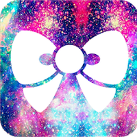 Cute wallpaper & kawaii backgrounds for girls ! apk icon