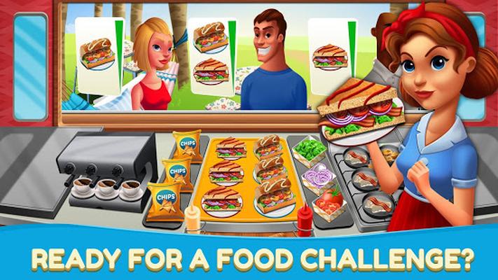 Juegos De Restaurantes De Cocina   Comida Rapida Fever Juegos De Cocina Restaurante 1 01 Android