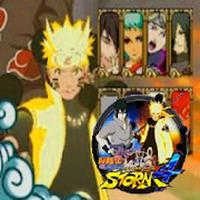 Ikon apk New Naruto Senki Ninja Storm 4 Trick