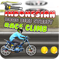 Ikon apk Drag Indonesia Street Race Bike Hill Climb 2018