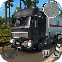 Real Cargo Truck Transporter 3D apk icon
