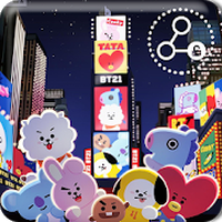 Biểu tượng apk BTS BT21 Art Kawaii Wallpapers Pattern Lock Screen