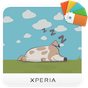 XPERIA™ Dotted Dog Theme 1.0.0