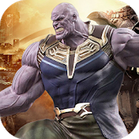 Verdadero Futuro Superhero Fight-Thanos 3D Battle apk icono