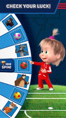 Masha and the Bear Video: Soccer Games - Free Kicks