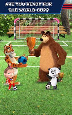 Image 3 of Masha and the Bear: Soccer Games - Free Kicks