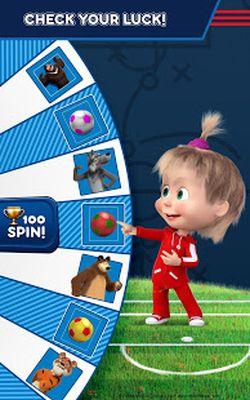 Image 4 of Masha and the Bear: Soccer Games - Free Kicks