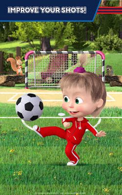 Image 5 of Masha and the Bear: Soccer Games - Free Kicks