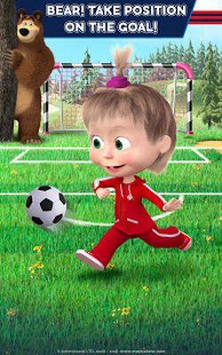 Image 6 of Masha and the Bear: Soccer Games - Free Kicks