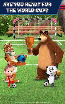 Image 7 of Masha and the Bear: Soccer Games - Free Kicks