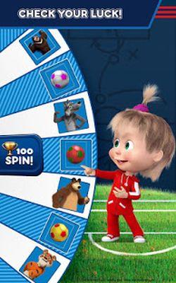 Image 8 of Masha and the Bear: Soccer Games - Free Kicks