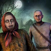 APK-иконка Страшные бабуля Дедушка Ужастик дом Крик