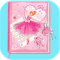 Girls Pink Diary With Fingerprint Code 2.3 APK