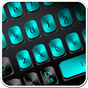 Black Blue Metal Keyboard 10001003 APK