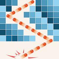 Ikona cegieł przerwy puzzle