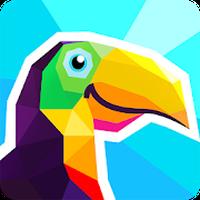 Icône de Poly Artbook - puzzle game
