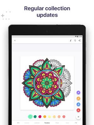 Coloring Book For Me Mandala Image 4