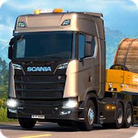 Icoană apk Euro Truck Driving 2018