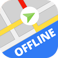 Offline Maps & Navigation 2017 Icon