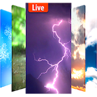 Animated Weather Live Wallpaper Background App Android