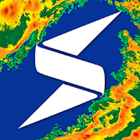 Ícone do Storm Radar: mapa climático