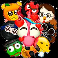 Icône de Emoji Maker: Émoticônes Smileys & Stickers