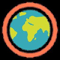 Biểu tượng Ecosia