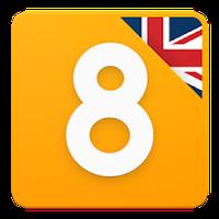 Ikon Hot8 - Inggris untuk pemula
