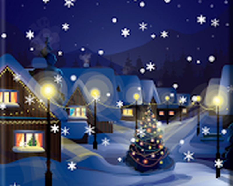 Snow Night City Live Wallpaper 132 Android Descargar Gratis
