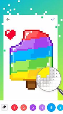 Sayiya Gore Renk Piksel Sanati Boyama Kitabi Indir Sayiya Gore