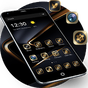 Golden Black Theme for Huawei P10 1.1.6
