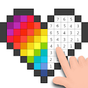 Pixel Art - Livro de Colorir pelo Número 1.6