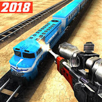 Icône de Sniper 3D : Train Shooting Game