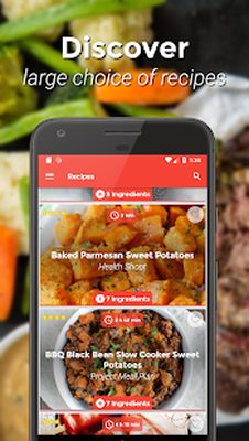 food network recipes nutrition facts android download