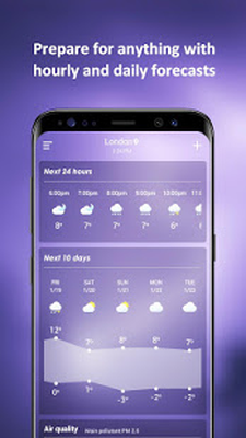 Tải miễn phí APK Weather Forecast - Channel, Live Report